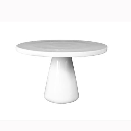 Party Rental Products 14 inch  Round White Cake Stand Buffet Ideas