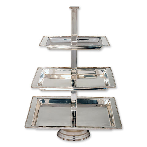Pastry 3 Tier Square Stand - 15