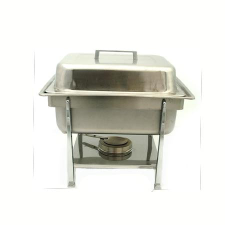 Square Stainless Chafer 4qt