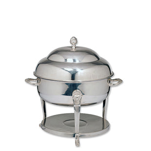 Silver Chafer 4qt Round