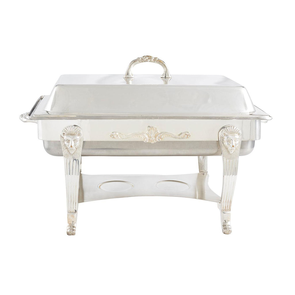 Silver Chafer 8 qt Rectangle
