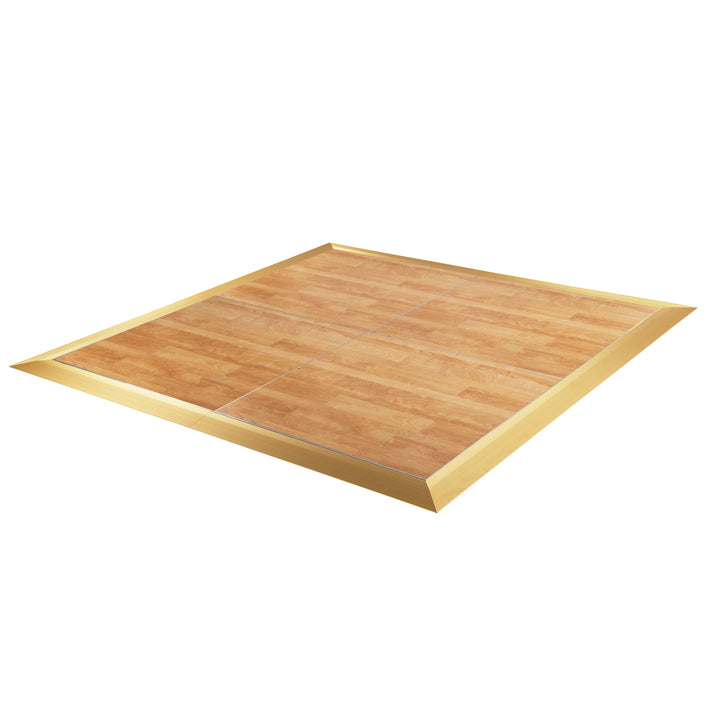 Dance Floor - Birch 4x4 with SS Trim or Gold Trim