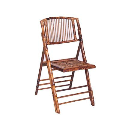 Party Rental Products Bamboo Folding Chair Chairs