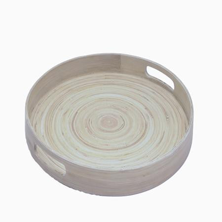 Party Rental Products Bamboo Gallery Tray Trays