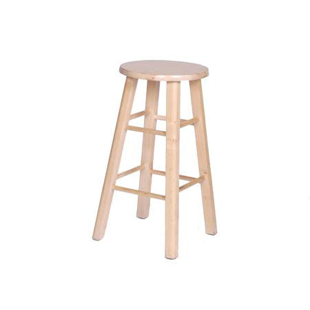Bar Stool - Natural -  Backless