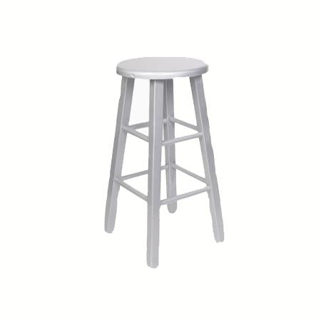 Bar stool - Silver - Backless