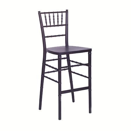 Party Rental Products Black Ballroom Bar Stool Chairs