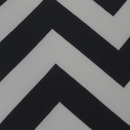 Party Linens Black Chevron Chevron