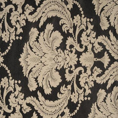 Party Linens Black Ivory Damask Damasks