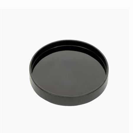 Party Rental Products Black Round Lacquer Tray Trays