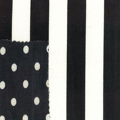 Party Linens Black and White Stripe  Stripes and Polka Dots