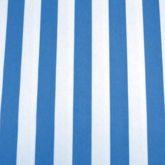 Party Linens Blue Awning Stripe  Stripes and Polka Dots
