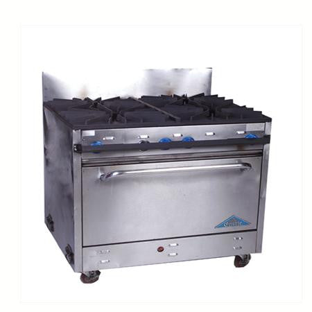 Party Rental Products Commercial 4 Burner Propane Stove Cooking