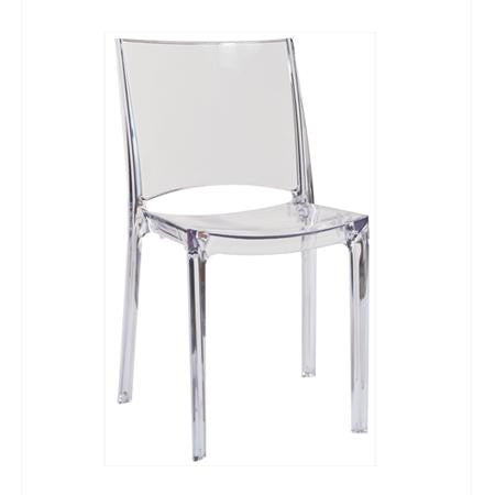 Contempo CLEAR Chair - Chairs