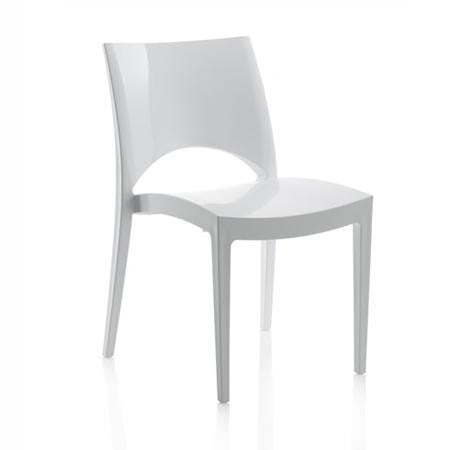 Contempo Gloss White Chair