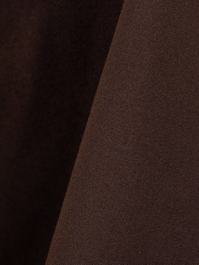 Brown  - Solid Cotton Nouveau