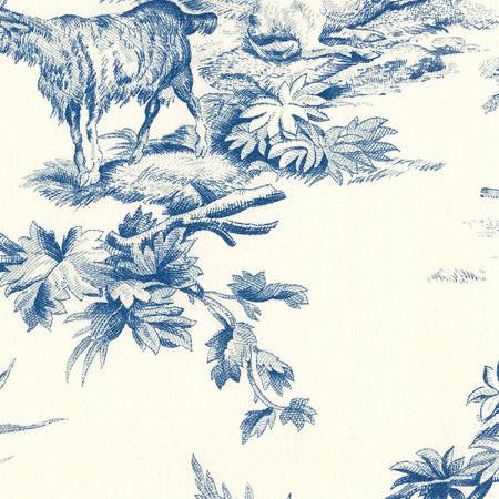 Country Toile Blue  - Toiles
