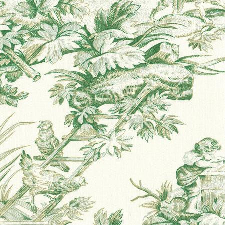 Country Toile Green  - Toiles
