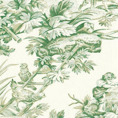 Party Linens Country Toile Green  Toiles