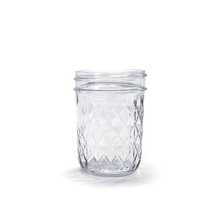 Diamond Mason Jar 8oz