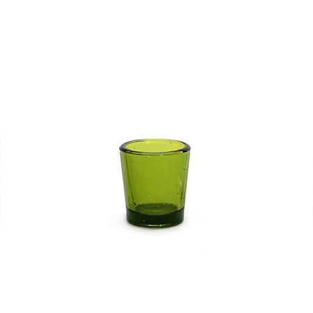 Votive Green Glass