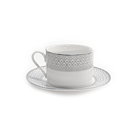 Marcella Platinum Cup and Saucer