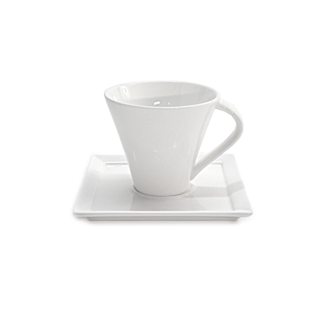 Tavola Square  Demi Cup and Saucer
