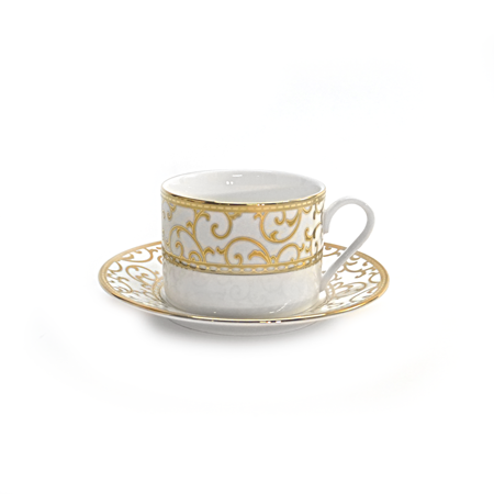 Palazzo Cup and Saucer, 8oz