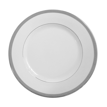 Platinum 12 inch Charger Plate - China  sc 1 st  Smith Party Rentals & Party Rental Products Platinum 10 inch Dinner Plate China | Smith ...