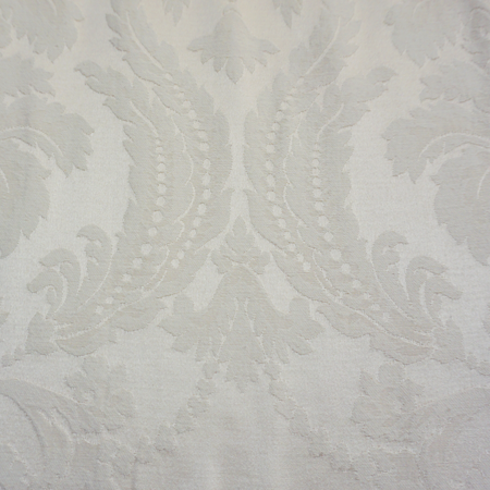 Ivory Damask Versaille Cushion