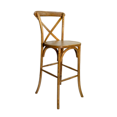 Cross Back Stool