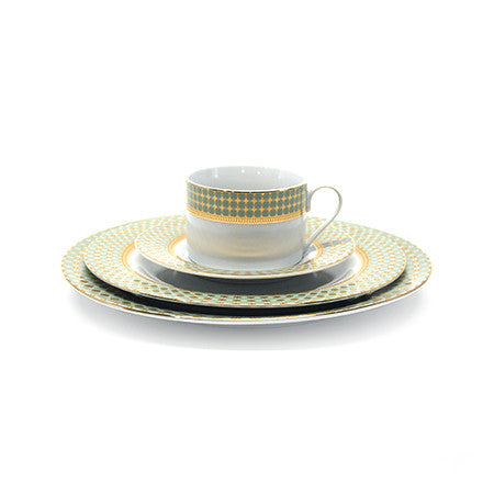Sage Delicacy Cup and Saucer