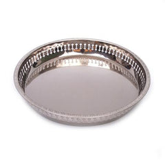 Party Rental Products Galley Round 15 inch  Chrome Trays