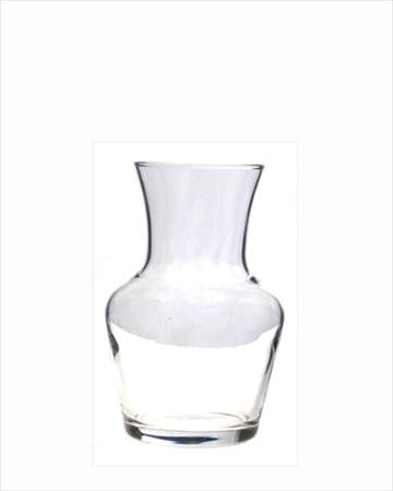 Glass Creamer - 8 oz Carafe Style