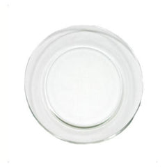 "Glass 8"" Salad/Dessert Plate"