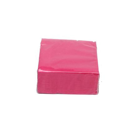 Party Rental Products Hot Pink Cocktail Napkins Paper Products