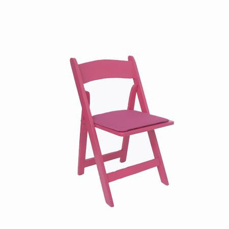 Party Rental Products Hot Pink Folding Chair Chairs
