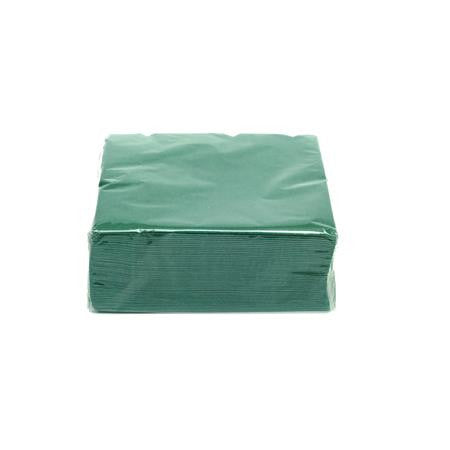 Hunter Green Cocktail Napkins - Paper Products