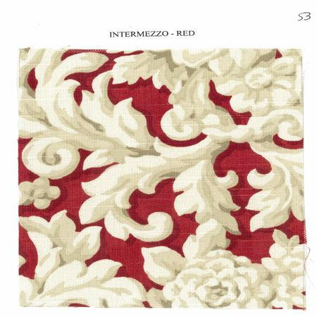 Party Linens Intermezzo Red Specialty Prints