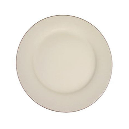 "Ivory Rim 12"" Charger Plate"