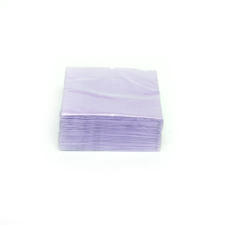 Lavender Cocktail Napkins - Paper Products