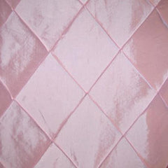 Party Linens Light Pink Pintuck  Pintuck