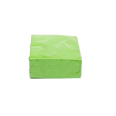 Lime Cocktail Napkins - Paper Products