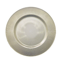 Luce Charger, Pewter 13""