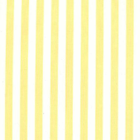 Party Linens Maize and White Stripe Stripes and Polka Dots