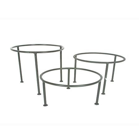 Party Rental Products Mod Regal Round Tray Stands Tiered Stands and Cake Stands
