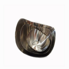 Party Rental Products Mod Stainless Steel 7 inch  Bowl Bowls