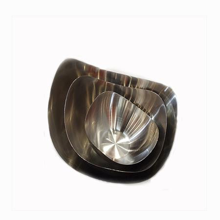 Party Rental Products Mod Stainless Steel Bowl 5 inch  Bowls