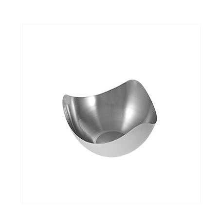 Mod Stainless Steel Curved Bowl 7 inch  - Mod Trays, Bowls and Stands