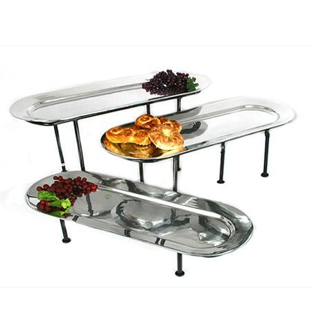 Mod Regal Oval 26x10 Tray on Oval Risers